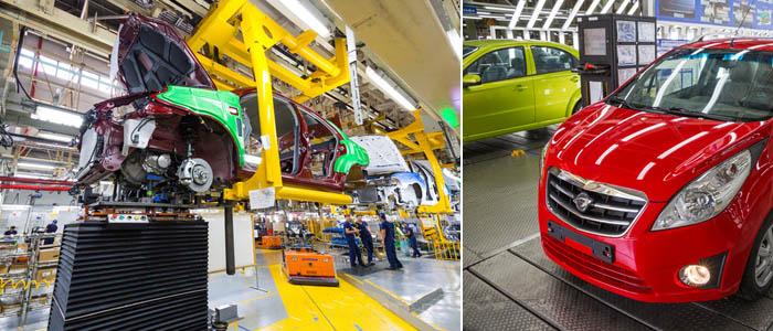 автомобильный завод в узбекистане